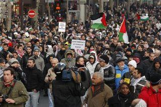 Manifestation Israel Palestine