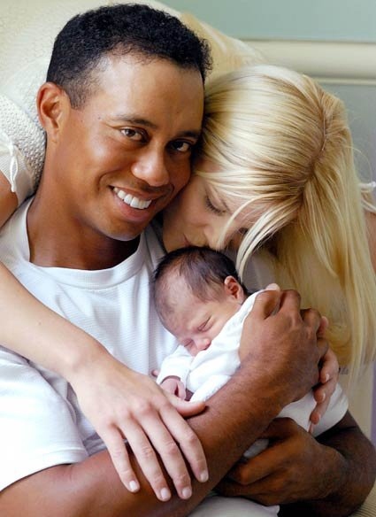 Tiger-woods-family